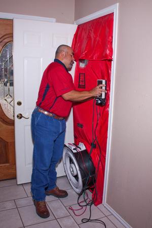 Blower Door/Envelope Test & LGO Services - Blower Door Test - San Antonio Texas